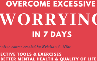 14 steps to overcome excessive worrying.
